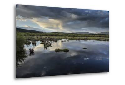 Reflections of Clouds in a Body of Water Near the Sawatch Mountains-Keith Ladzinski-Metal Print