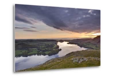 Ullswater in the Lake District National Park, Cumbria, England, United Kingdom, Europe-Julian Elliott-Metal Print