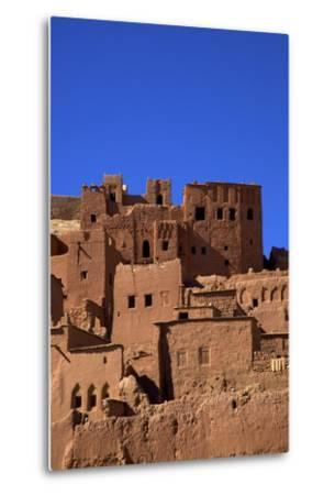 Ait-Benhaddou Kasbah, UNESCO World Heritage Site, Morocco, North Africa, Africa-Neil Farrin-Metal Print