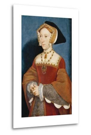 Jane Seymour, Queen of England-Hans Holbein the Younger-Metal Print