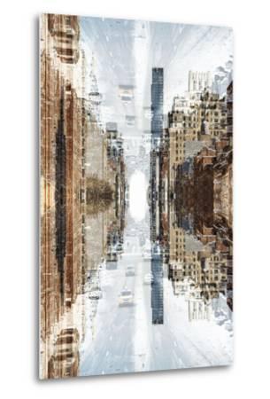 New York City Reflections Series-Philippe Hugonnard-Metal Print