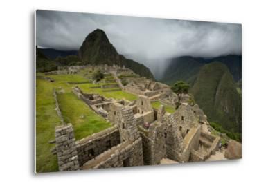 Machu Picchu-Michael Melford-Metal Print
