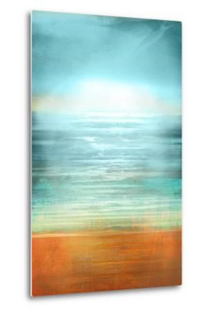 Ocean Abstract-Anna Polanski-Metal Print