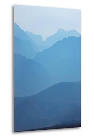 Sierra Nevada Mountains, California--Metal Print