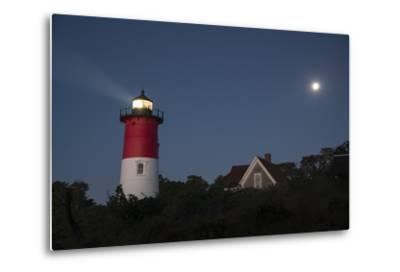 Nauset Light, Eastham, Cape Cod, Massachusetts-Michael Melford-Metal Print