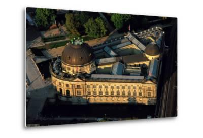 An Aerial View of the Bode Museum-Marcello Bertinetti-Metal Print