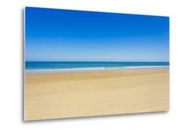 A Pristine Beach at Cabo Polonio, Accessible Only by Four-Wheel Drive Vehicles-Mike Theiss-Metal Print