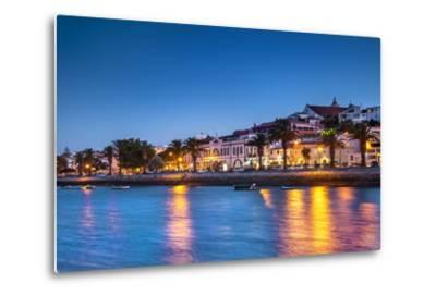 Sunset View of Lagos, Algarve, Portugal-Sabine Lubenow-Metal Print