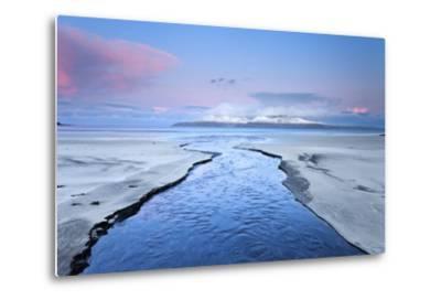 United Kingdom, Uk, Scotland, Highlands, Blue Dawn at Eigg Island-Fortunato Gatto-Metal Print