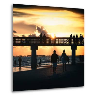 End of Beach Day-Philippe Hugonnard-Metal Print