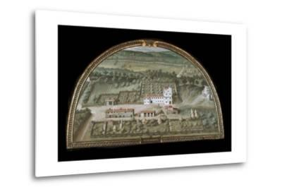 View of Villa Di Colle Salvetti--Metal Print