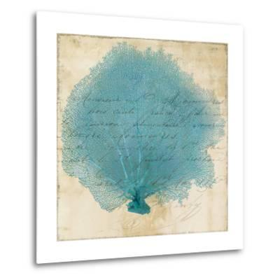 Blue Coral IV-Anna Polanski-Metal Print