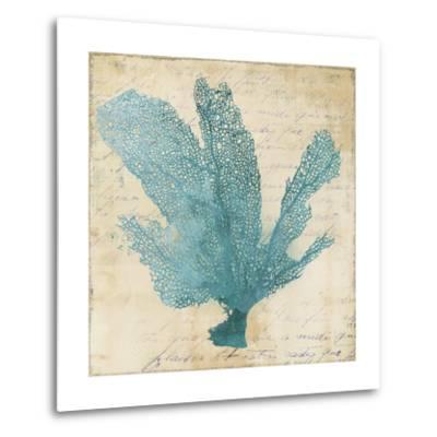 Blue Coral I-Anna Polanski-Metal Print