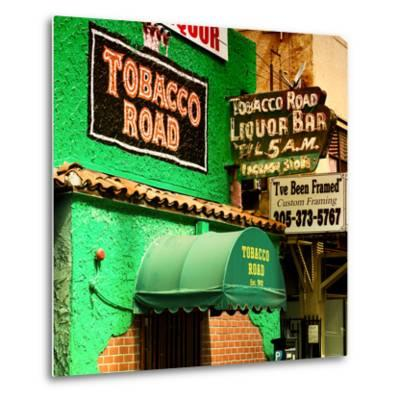 The Tobacco Road - Miami's Oldest Bar - Florida - USA-Philippe Hugonnard-Metal Print