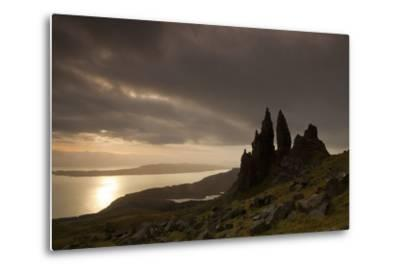 Old Man of Storr at Dawn, Skye, Inner Hebrides, Scotland, UK, January 2011-Peter Cairns-Metal Print
