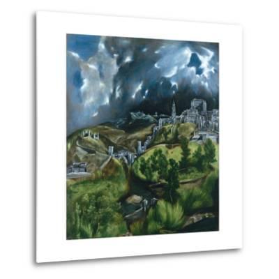 View of Toledo-El Greco-Metal Print