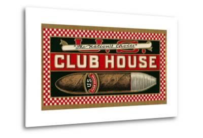 Ad for Club House Cigar--Metal Print