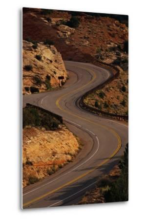 Winding Highway-Paul Souders-Metal Print