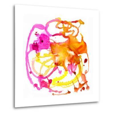Watercolour Abstract IV-Anna Polanski-Metal Print