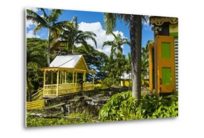 Romney Manor on St. Kitts-Michael Runkel-Metal Print