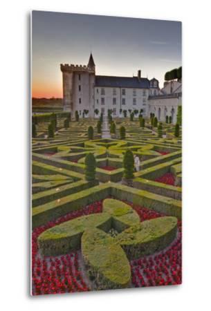 The Chateau of Villandry at Sunset-Julian Elliott-Metal Print