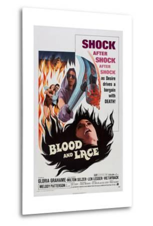 Blood and Lace, 1971--Metal Print