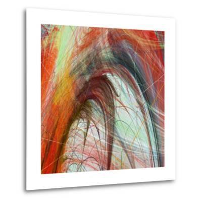 String Tile II-James Burghardt-Metal Print