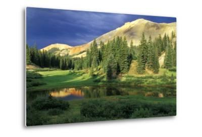 USA, Colorado. Red Mountain at Sunset-Jaynes Gallery-Metal Print