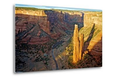 Spider Rock in Canyon De Chelly, Arizona-Richard Wright-Metal Print