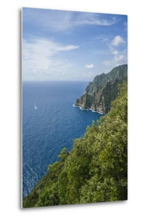 Landscape along the Trail to San Fruttuoso-Guido Cozzi-Metal Print