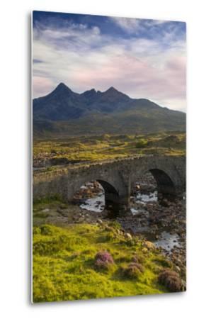 Stone Bridge over River Slichagan, Slichagan, Isle of Skye, Scotland-Brian Jannsen-Metal Print