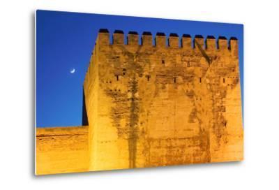 Torre De La Vela, Alcazaba, La Alhambra, Granada, Spain-Susan Degginger-Metal Print