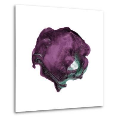 Polished in Eggplant--Metal Print
