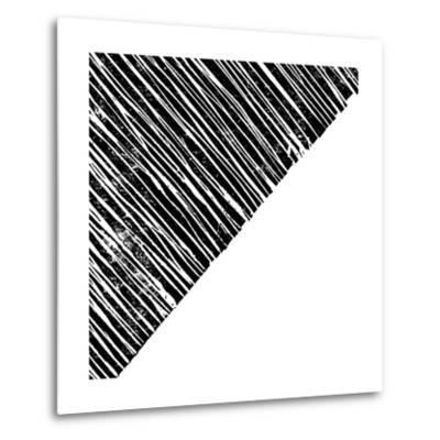 Starkly Lined B-THE Studio-Metal Print