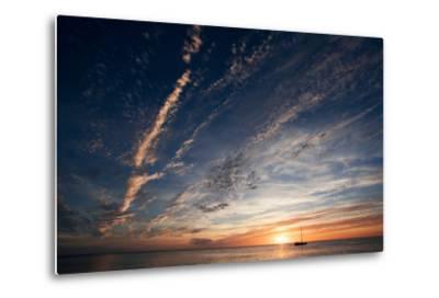 Sunset, St. Lucia, West Indies-Susan Degginger-Metal Print