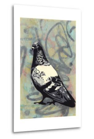 Rock Pigeon-Urban Soule-Metal Print