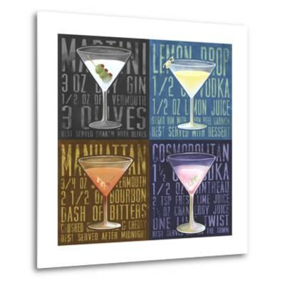 Martini 4-Up-Cory Steffen-Metal Print