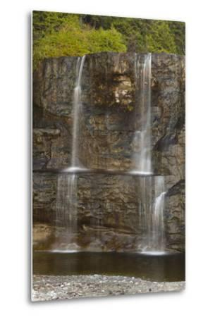 Canada, Pacific Rim National Park Reserve, West Coast Trail, Tsusiat Falls-Jamie And Judy Wild-Metal Print