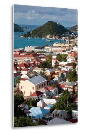 Charlotte Amalie, St. Thomas, U.S. Virgin Islands-Susan Degginger-Metal Print