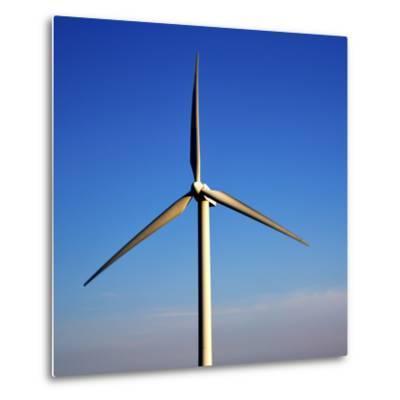 In Isle of Lanzarote  Spain Africa Wind Turbines Sky-lkpro-Metal Print