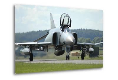 F-4F Phantom of the German Air Force-Stocktrek Images-Metal Print