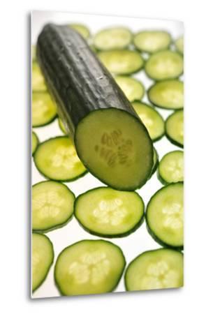 Cucumber-Frank May-Metal Print