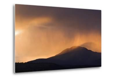 Colorado. Sunset in Stormy Rocky Mountains-Jaynes Gallery-Metal Print