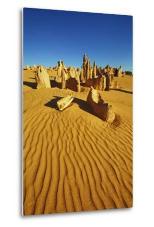 Erosion Landscape Pinnacles-Frank Krahmer-Metal Print