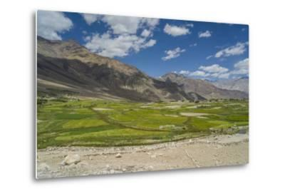 Khardung-La Pass is the Highest Motorable Road in the World with 18380 Feet, 5602,2 Meters-Guido Cozzi-Metal Print