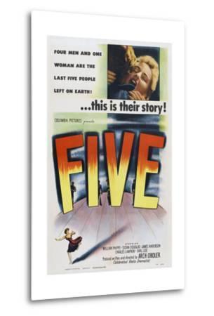Five, 1951--Metal Print