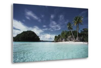 Palau, Honeymoon Island, Rock Islands-Stuart Westmorland-Metal Print