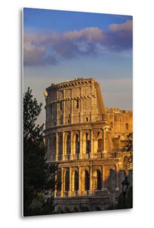 Italy, Lazio, Rome, the Colosseum-Jane Sweeney-Metal Print