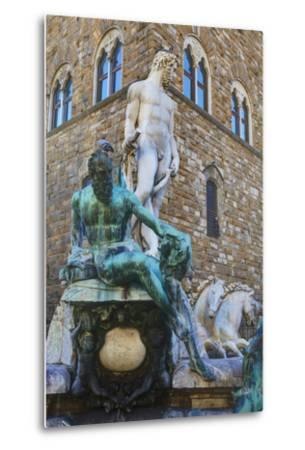 Statues in the Palazzo Vecchio-Terry Eggers-Metal Print