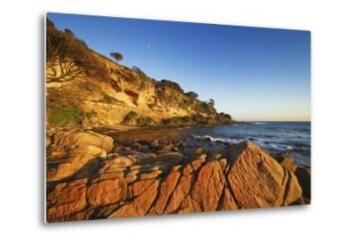 Coast Landscape at Bunker Bay-Frank Krahmer-Metal Print